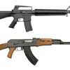 なぜゴルゴはかの銃を選んだか?AK-47 vs M16